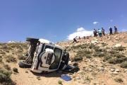 Bitlis UMKE aracı kaza yaptı: 2 yaralı