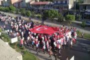 Bitlis'in Güroymak ilçesinde 15 Temmuz Demokrasi ve Milli Birlik Günü dolayısıyla
