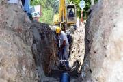 Güroymak'ta yeni içme suyu şebeke hatları döşendi