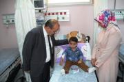 Vali Ustaoğlu'ndan hastane ziyareti